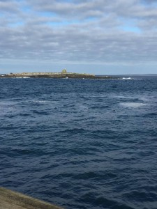 Doolin pier beside doolin yoga centre hatha and vinyasa flow doolin yoga in clare with Tricia mc Donnell 1