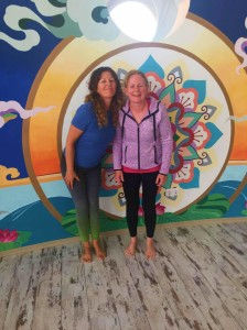 Tricia of Doolin Yoga county Clare in training 3