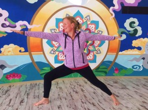 Tricia of Doolin Yoga county Clare in training 5