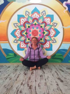 Tricia of Doolin Yoga county Clare in training 4